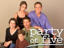 A.	cast counter clockwise: Scott Wolf (Bailey Salinger), Lacey Chabert (Claudia Salinger), Neve Campbell (Julia Salinger), Jacob Smith (Owen Salinger) and Matthew Fox (Charlie Salinger), star as orphaned siblings in the one-hour Columbia TriStar Television series